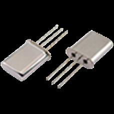 Golledge HC49 3-leg thru-hole crystal filter package