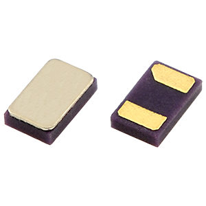 The CM9V03-T1A is an ultra-low profile crystal solution with component height of just 0.3mm, available iwth military operating temperature range of -55 to +125°C.