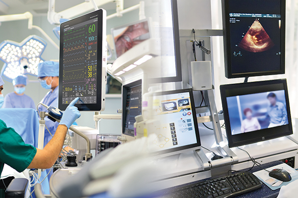 Ultra wide band technology is helping realise remote patient monitoring systems, helping protect healthcare professionals.